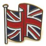Enamel Union Jack Badge | British Enamel Badge