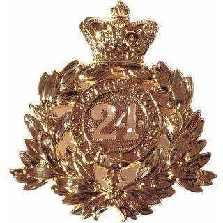 24th Regiment Of Foot Plate