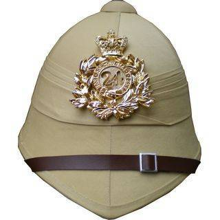 Pith Helmet 24th Regiment in Sand