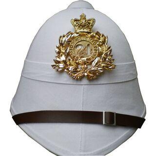 British Pith Helmet 24th Regiment