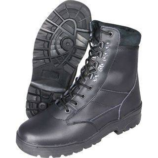 Army Patrol Boots All Leather