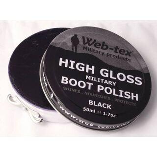 Military Black Boot Polish