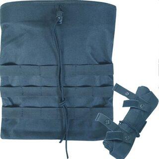 Black Folding Dump Bag