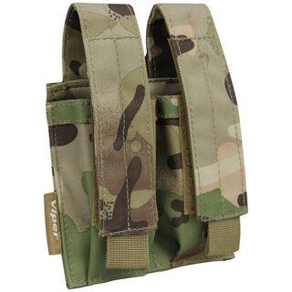 Viper Double Pistol Mag Pouch V-Cam