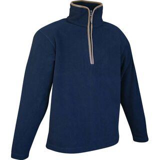 Fleece Pullover Navy S