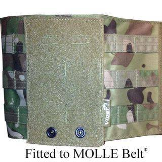 Tactical Adjuster Panel Fitted to MOLLE