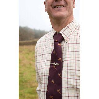 Tie Clip On Shirt