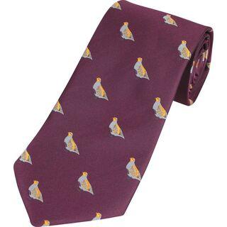 Wine Tie Partridge