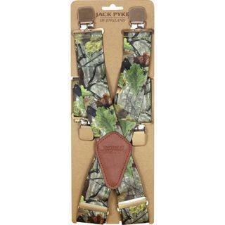 Camo Elasticated Braces
