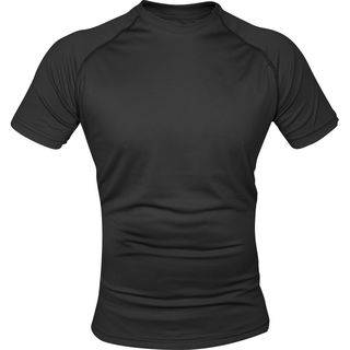 Viper Mesh T-Shirt in Black