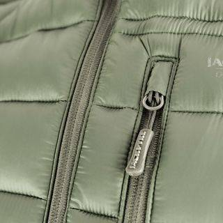 quilted Gilet Side Zip