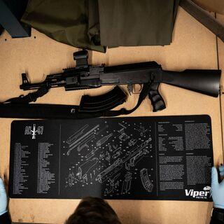 Display AK47 Mat