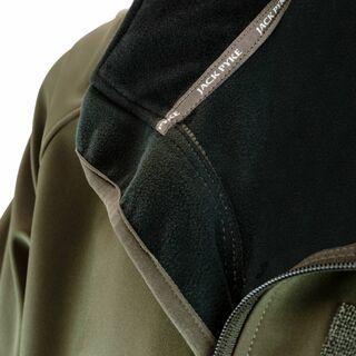open zip soft shell